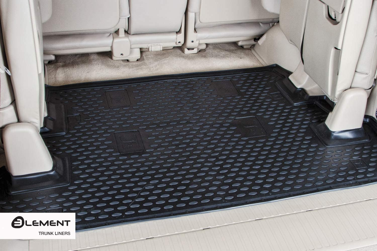 SUV 2005-2011 Black Element EXP.NLC.34.23.B13 Tailored Custom Fit Rubber Boot Liner Protector Mat-Mercedes M-Class W164