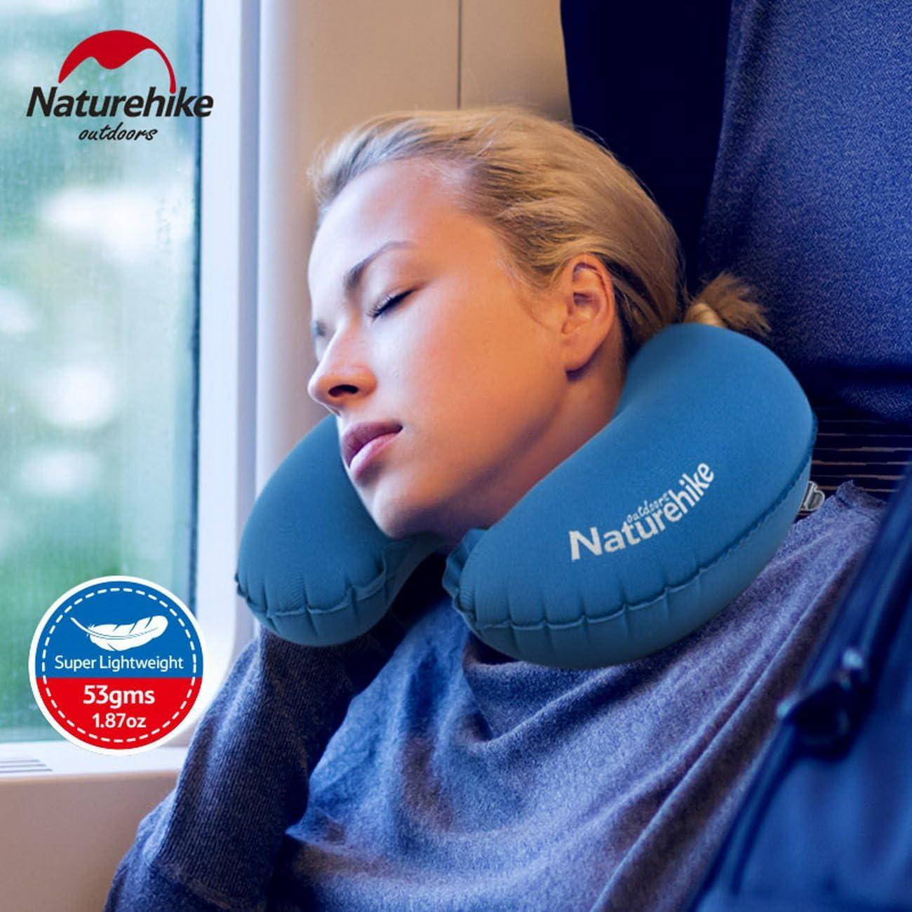 Naturehike Cuscino da Viaggio Portatile Pieghevole Air Cuscino Gonfiabile Ultral Luce Necessit� Viaggi NH17T011-U