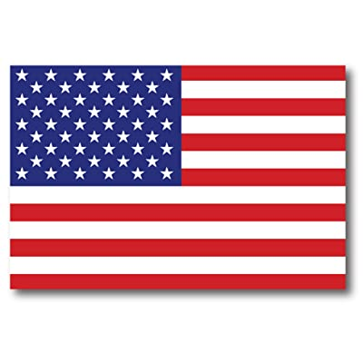American Flag Car Magnet Decal - 4 x 6 Heavy Duty for Car Truck SUV: Automotive