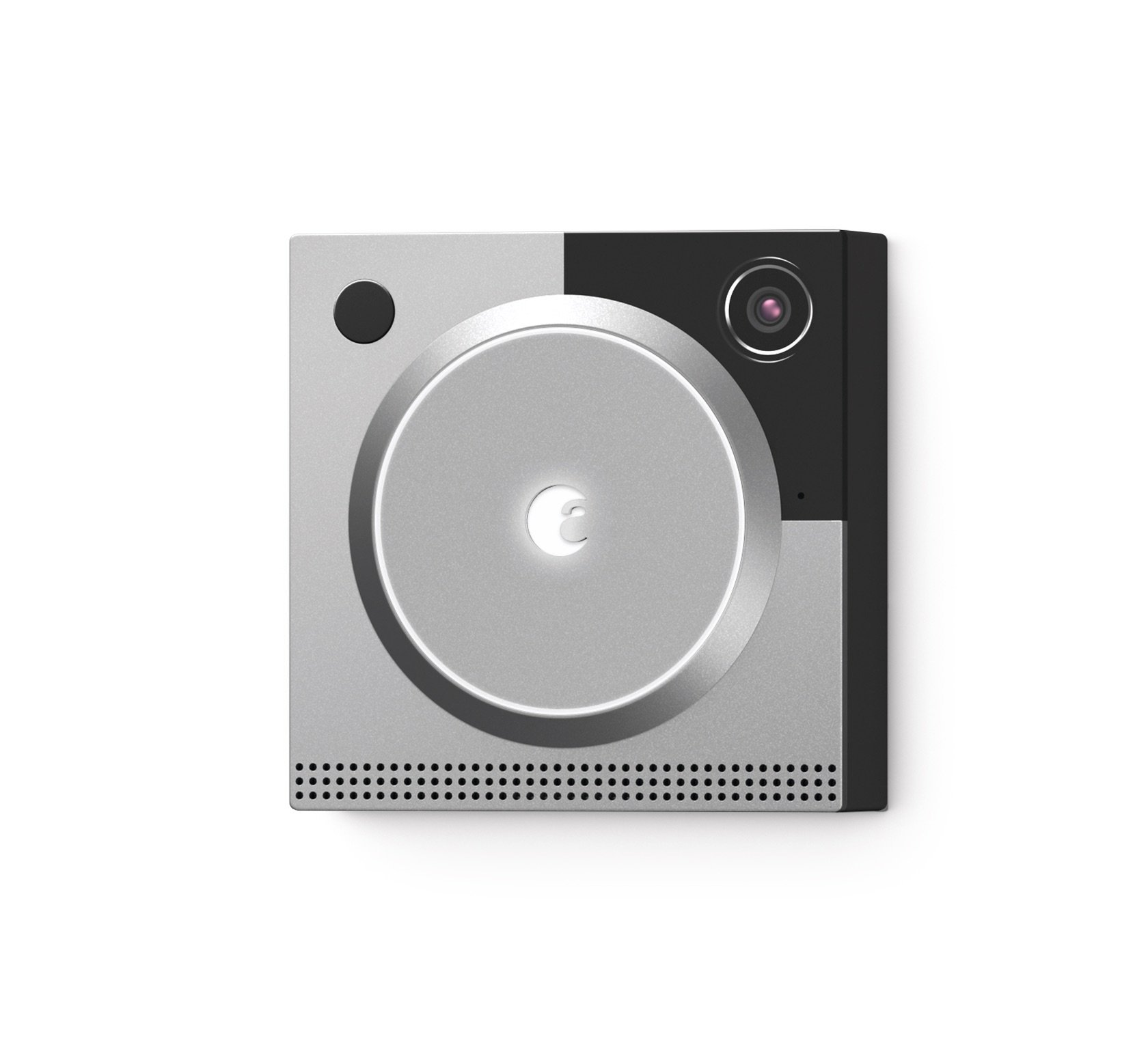 August Doorbell Cam Pro, 2nd generation technology - Silver, Works with Alexa