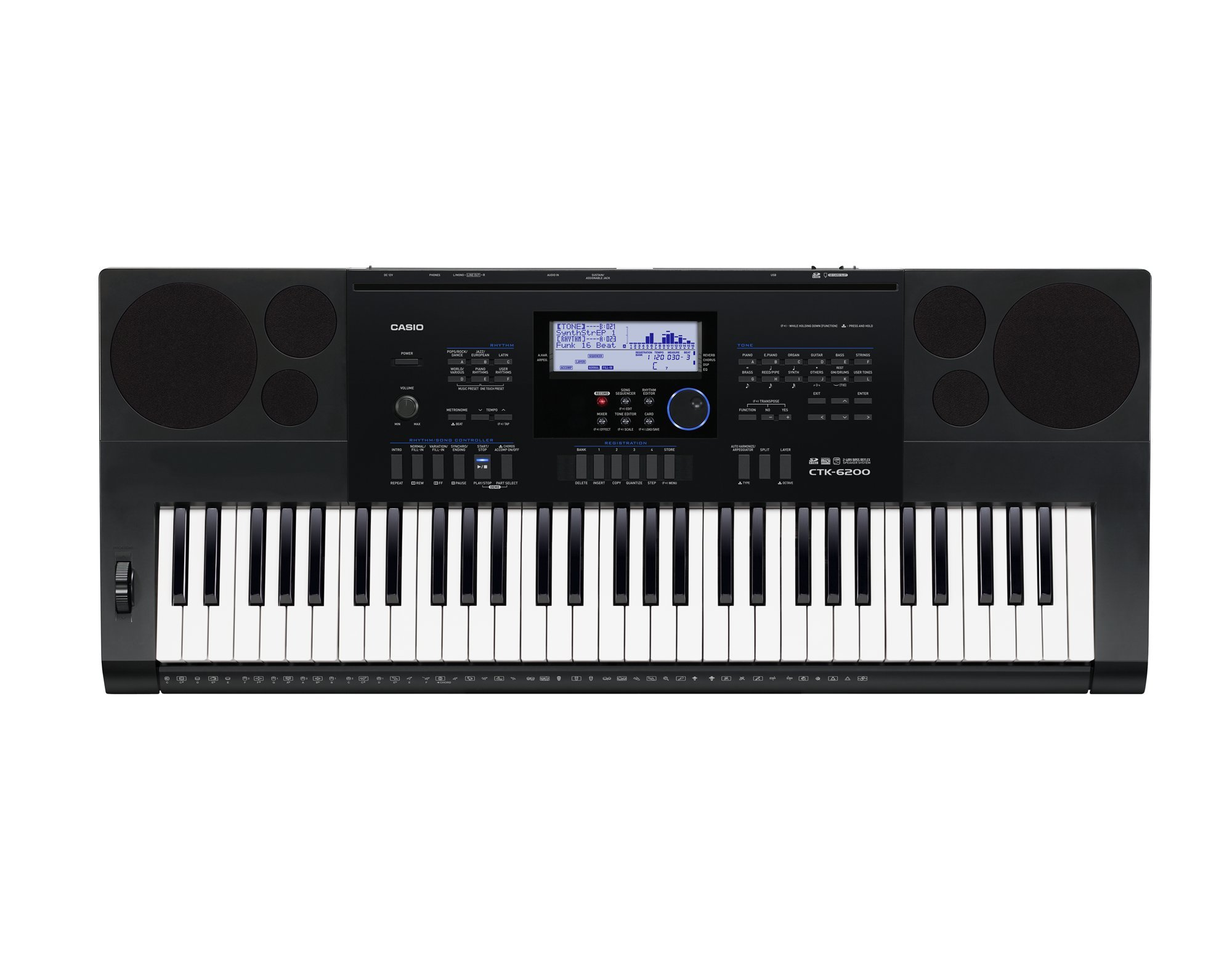 Casio CTK 6250 VS Casio CTK 6200
