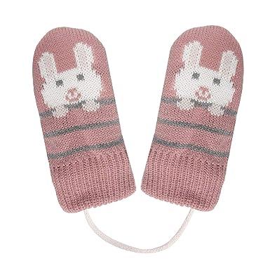 262f6361b49 Isotoner Moufles enfant motif lapin