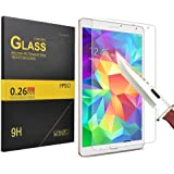 IVSO Premium Tempered-Glass Screen Protector for Samsung Galaxy Tab S2 8-Inch Tablet (1 Pack)