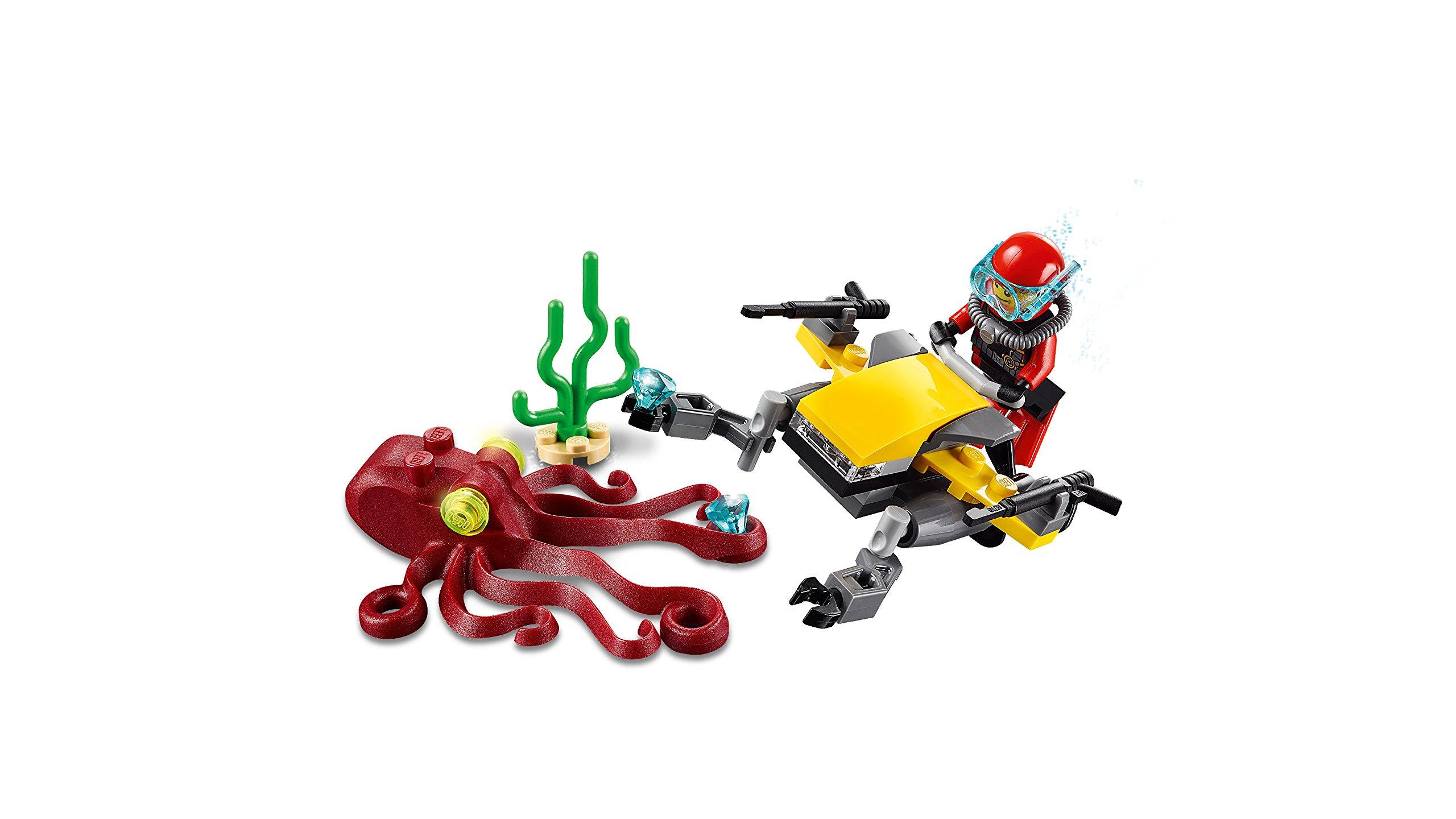 LEGO City Deep Sea Explorers 60090 Scuba Scooter Building Kit by LEGO