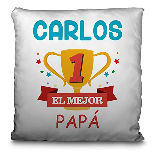 LolaPix Cojín Personalizado con tu Foto, Imagen, Nombre o ...