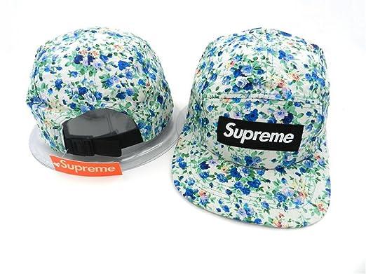4bbb7c17aee Supreme 5 Blades Cap Hyst Eresen Hat Cap (White with White Logo ...