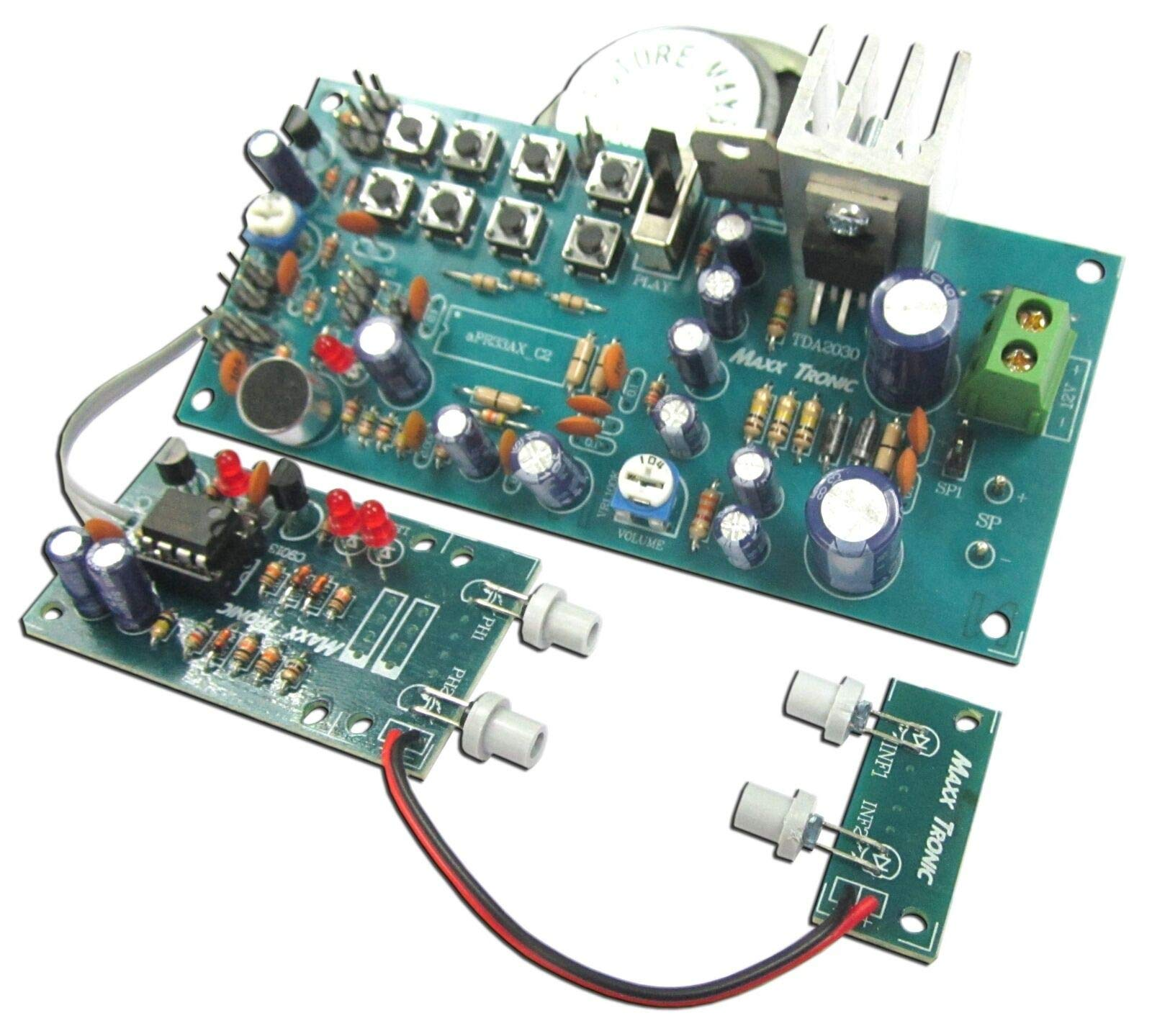 Voice Donation Box with Sensor and 8W Amplifier Ready to use [ Assembled kit ]