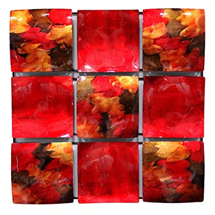 Amazon.com: Heather Ann Creations 9 Solid Concave Square Panels ...