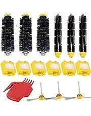 Conjunto de cepillos de filtros - SODIAL(R)conjunto de cepillos de 3 lados