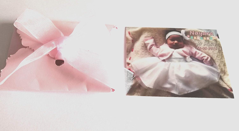 Imanes personalizados con foto para bautizo 25 unidades Detalles Party baby