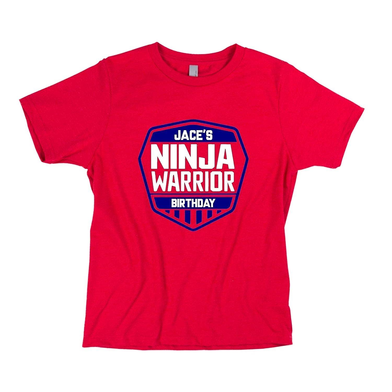 Amazon.com: Ninja Birthday Shirt, Ninja Warrior Shirt ...