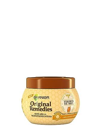 ORIGINAL REMEDIES mascarilla tesoros de miel 300 ml