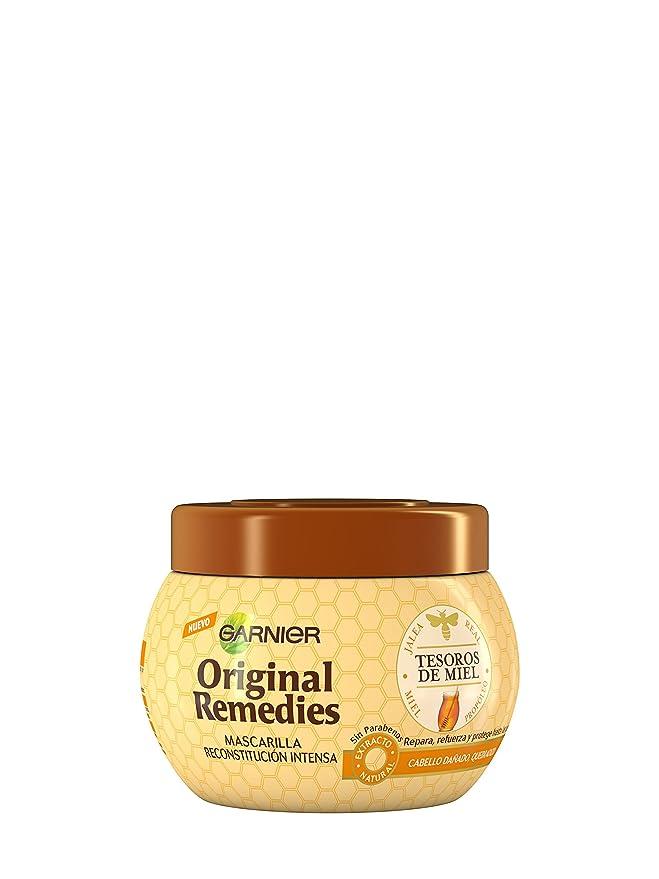 Garnier Original Remedies Mascarilla Tesoros Miel - 300 ml: Amazon.es: Amazon Pantry