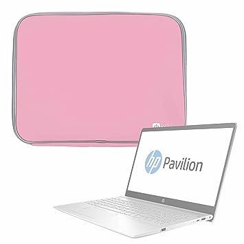 DURAGADGET Funda De Neopreno Rosa para Portátil HP 15-bw068ns, HP Pavilion 15-ck007ns: Amazon.es: Electrónica