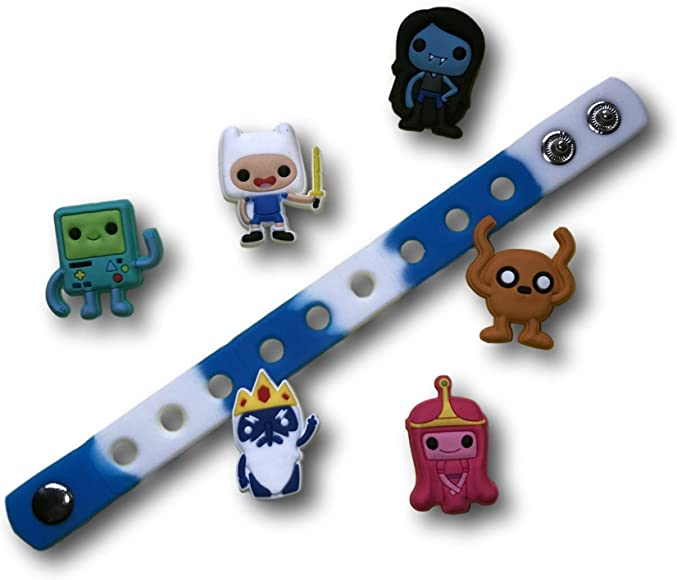 10 Piece Crocs Shoe Plug Charms Slippers Accessories Button Wristbands