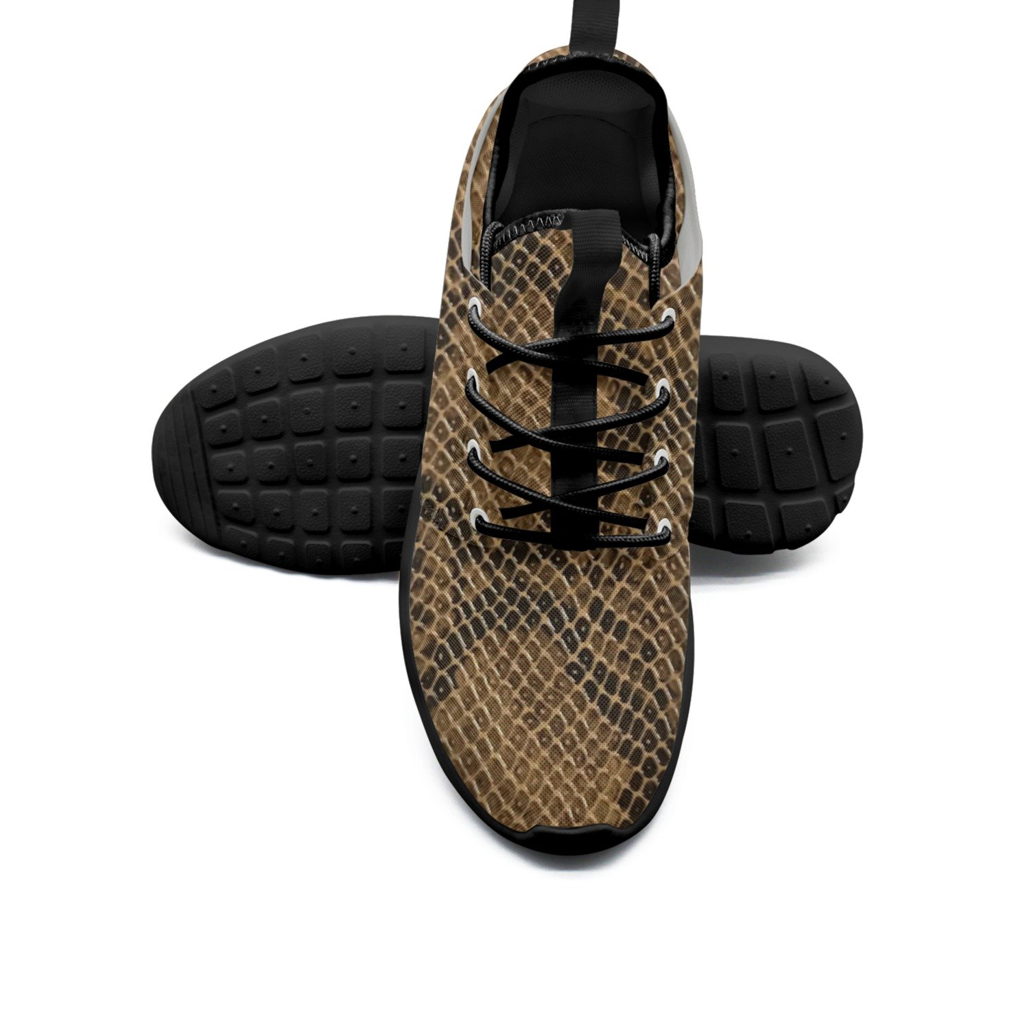 FUFGT Cobra Snake Skin Women's Net Fashion Running Shoes Unique Mini