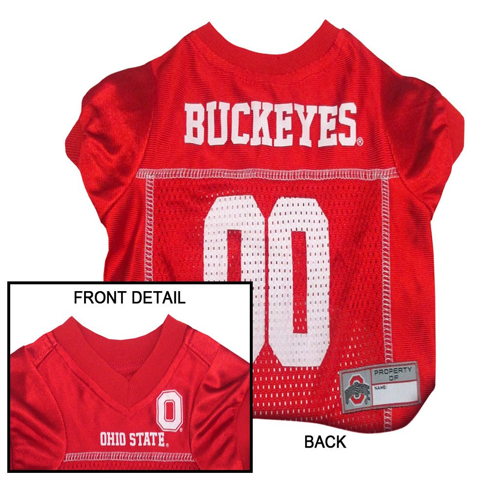 OHIO STATE BUCKEYES Dog Jersey ★ ALL SIZES ★ Licensed NCAA PETS FIRST