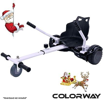 COLORWAY Aiento Kart para Hover Scooter Board de Equilibrio Automático Compatible con Scooter Electrico 6,5, 8 y 10 Pulgadas