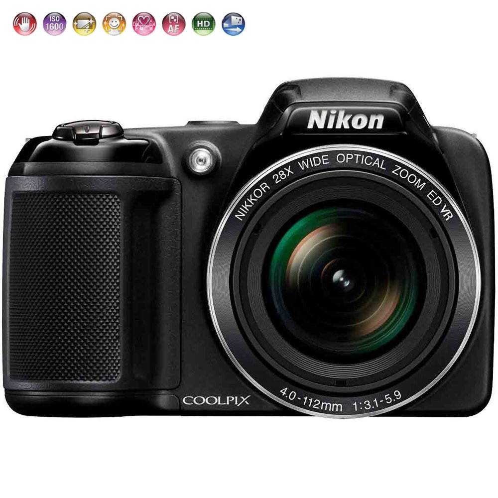 Nikon Coolpix l340 20.2 MPデジタルカメラ28 x光学ズーム – 認定Refurbished   B01LWMBFGL