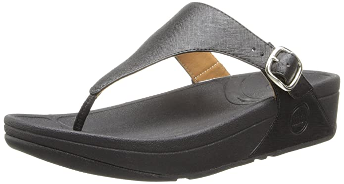 2fa526fd93113c Amazon.com  FitFlop The Skinny Deluxe Black UK 6.5  Shoes