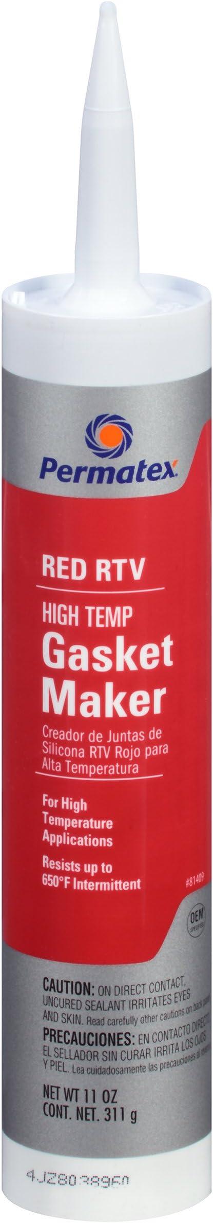 MAGTOOLS Grey Max Oil Resistance Silicone Gasket Maker Rigid  RTV 3OZ 85g 2017