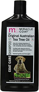 Miracle Coat Original Tea Tree Shampoo 16-Ounce