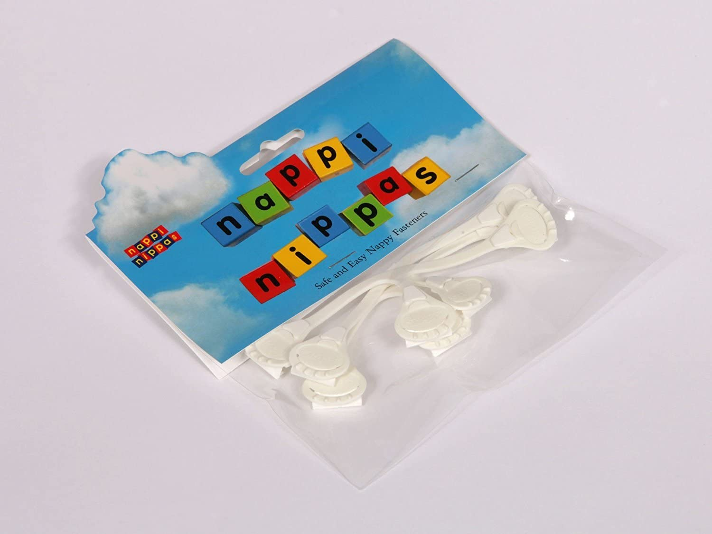 Nappi Nippas pack of 3 white