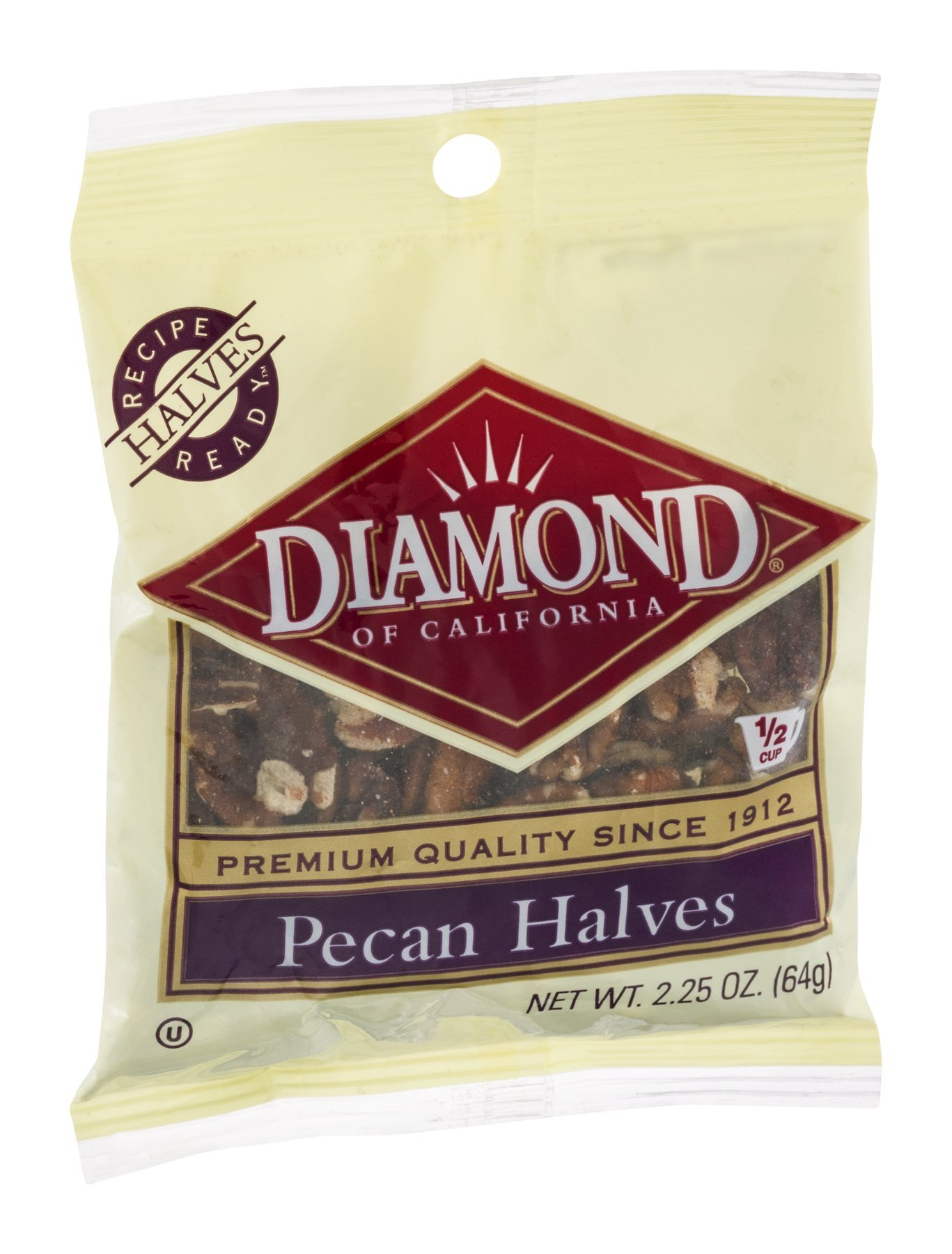 Diamond Pecan Halves - 12 Pack