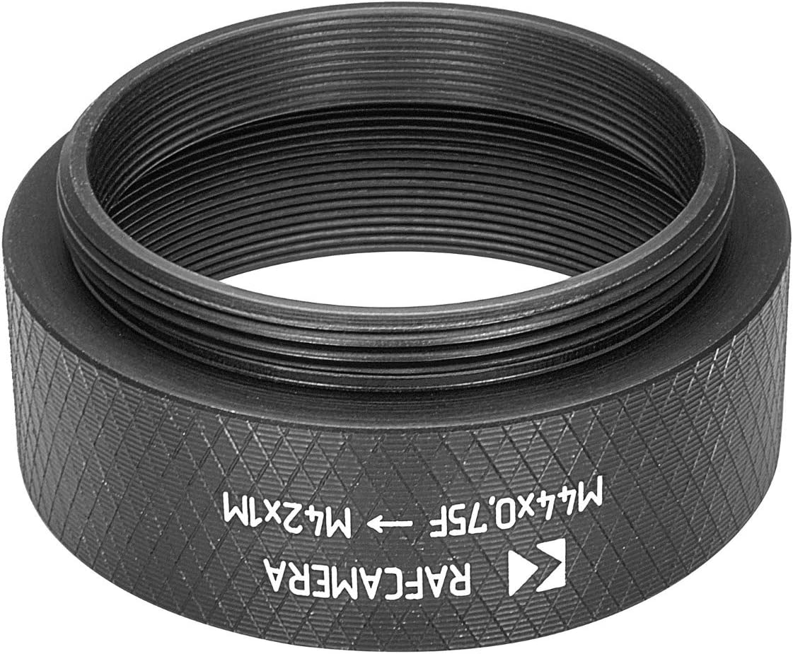 M44x0.75 Female to M42x1 Male Thread Adapter