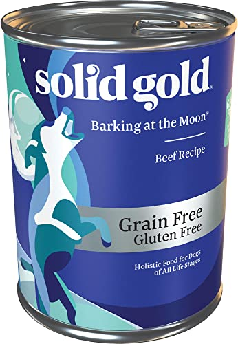 Solid Gold High Protein Dry Dog Food Barking at the Moon Grain-Free with Real Beef All Life Stages