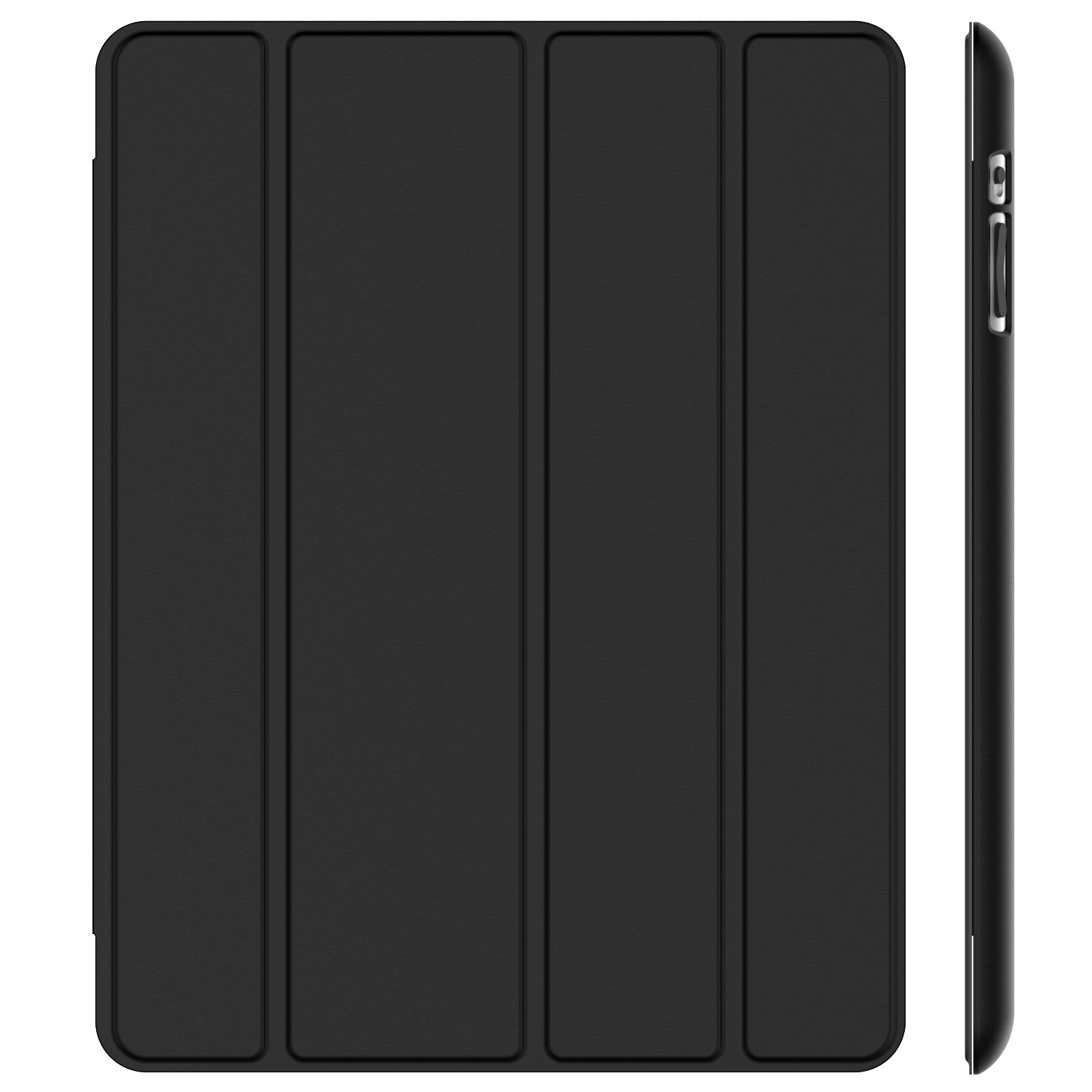 JETech Case for Apple iPad 2 3 4 (Old Model) Smart Cover with Auto Sleep/Wake (Black)