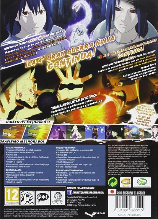 Naruto Shippuden: Ninja Storm 3 - Full Burst: sony ...