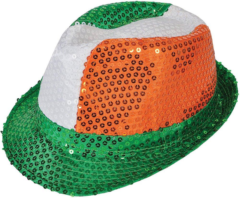 Rhode Island Novelty Sequined Irish Fedora SSIRSFE