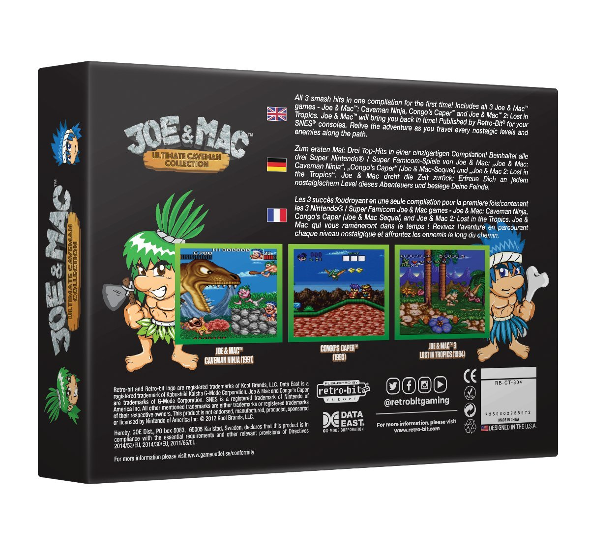 joe and mac 2 snes amazon