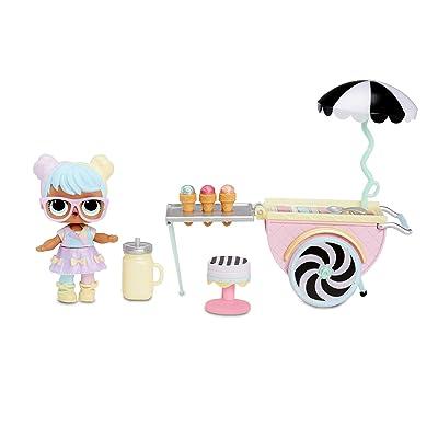 L.O.L. Surprise! Furniture Ice Cream Pop-Up with Bon & 10+ Surprises: Toys & Games