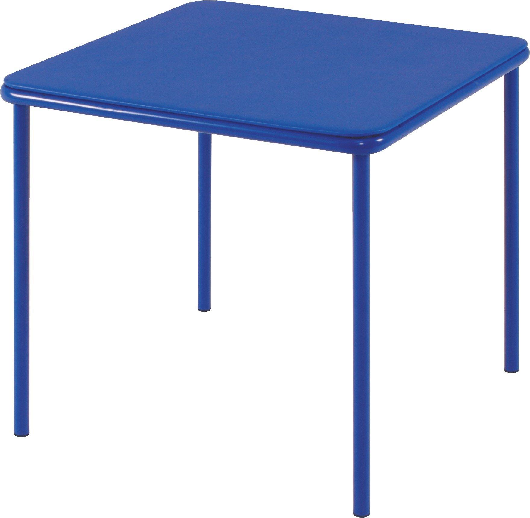 Cosco Kid's Vinyl Top Table Blue