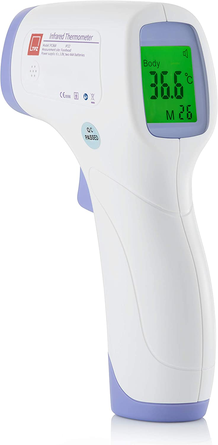 TPZ No Touch Infrared Forehead Thermometer for £15.88