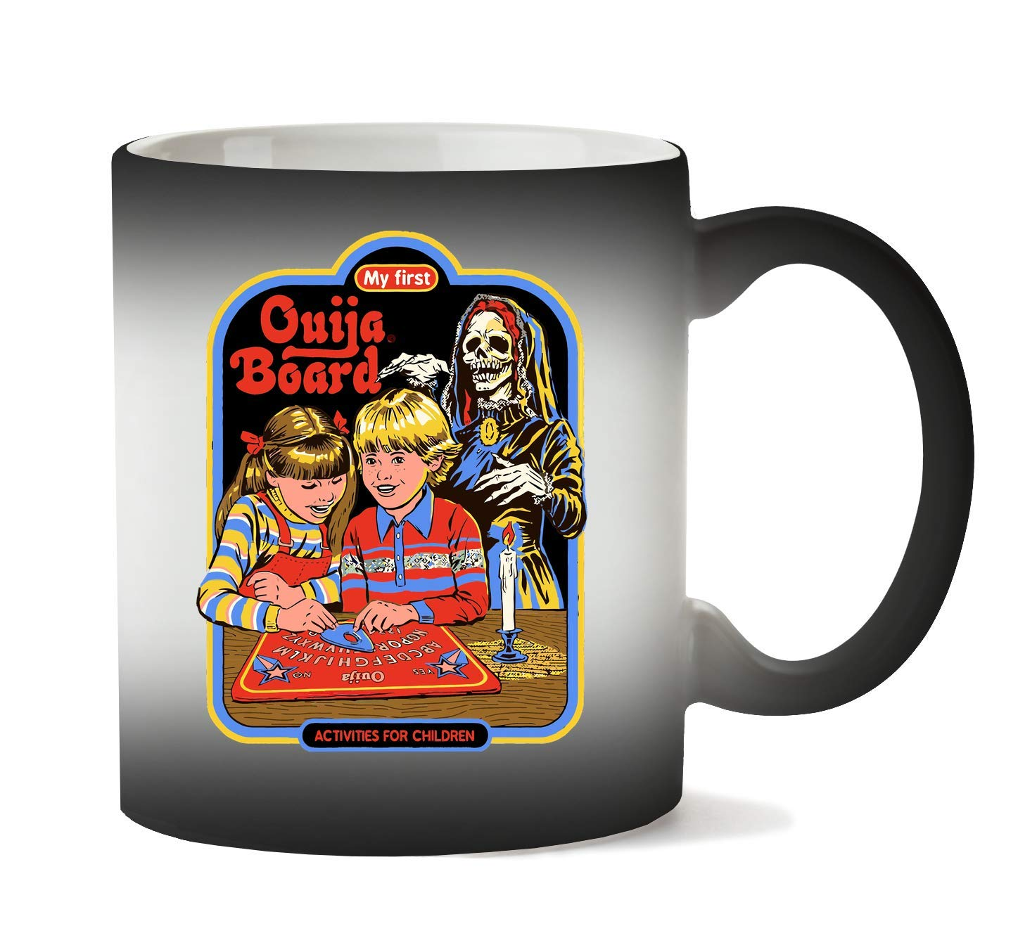 BakoIsland Ouija Board Retro Vintage Poster Design Taza ...
