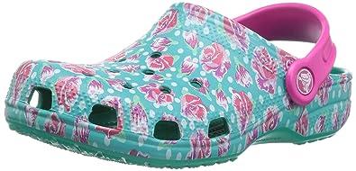 38b6813dd63a3 Crocs Unisex Kids' Classic Graphic K Clog: Amazon.co.uk: Shoes & Bags