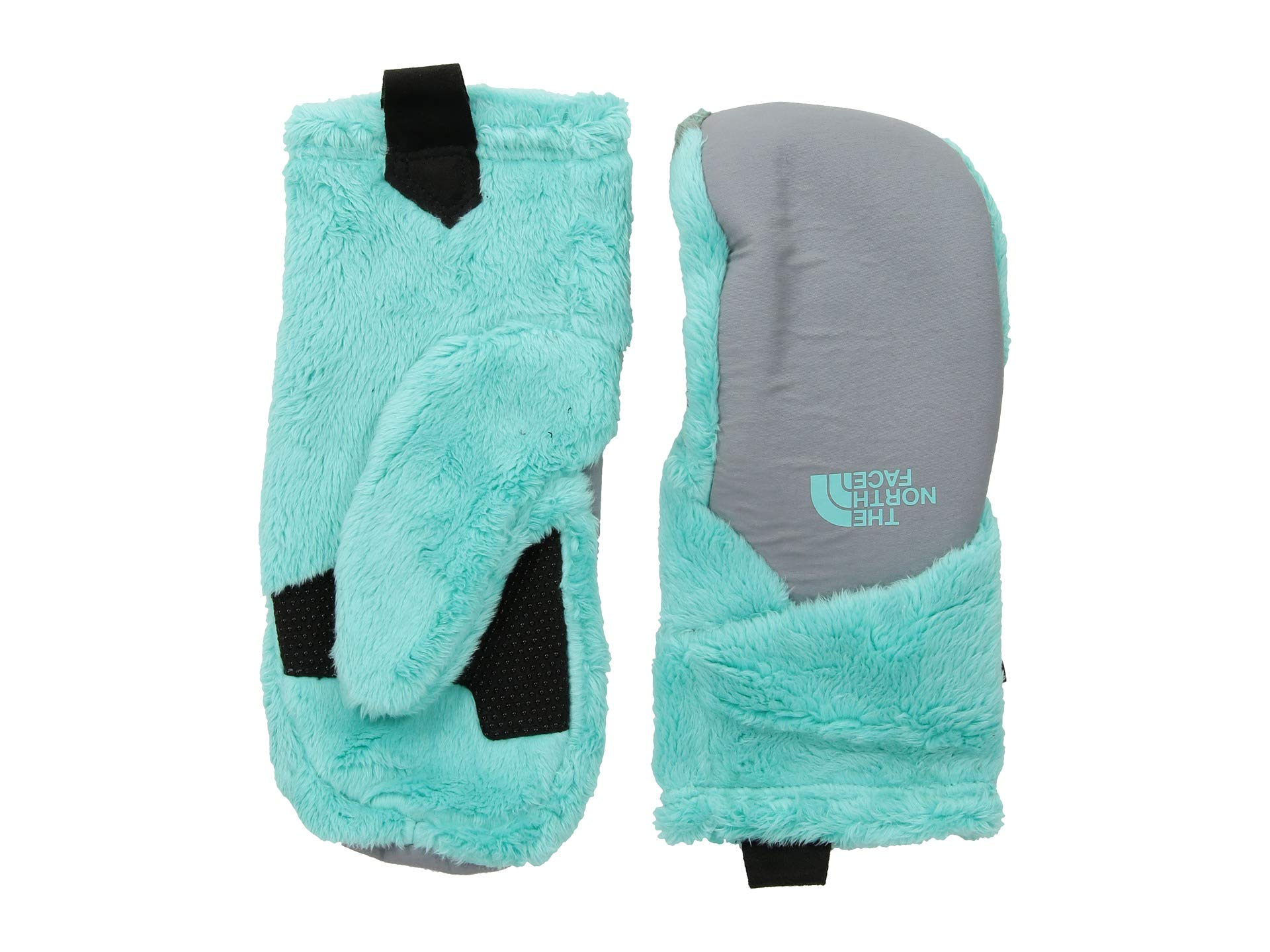 The North Face Kids Girl's Osito Etip¿ Mitt (Big Kids) Mint Blue/Mid Grey MD by The North Face (Image #1)