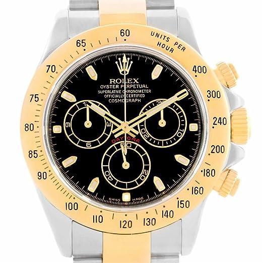 Rolex Daytona 116523 - Reloj automático para hombre (certificado de autenticidad)