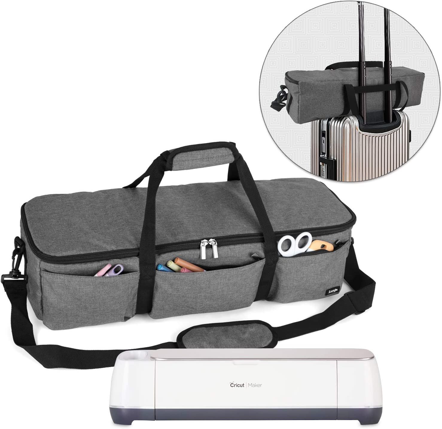 YELAIYEHAO Carrying Bag Compatible with Cricut Explore Air and Maker Waterproof