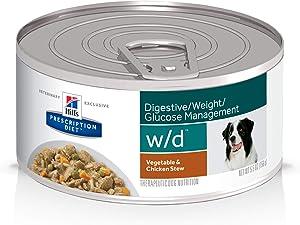 Hill's Prescription Diet w/d Multi-Benefit Digestive/Weight/Glucose/Urinary Management Wet Dog Food, Veterinary Diet