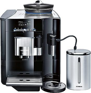 Siemens TE716519DE EQ.7 - Cafetera automática, color acero negro: Amazon.es: Hogar