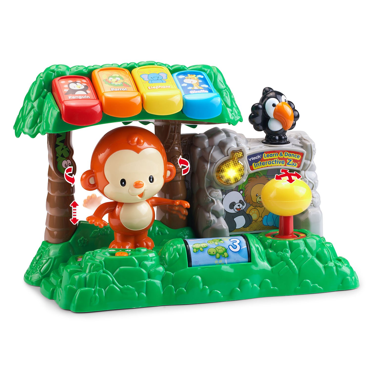 Amazon VTech Learn and Dance Interactive Zoo Toys & Games