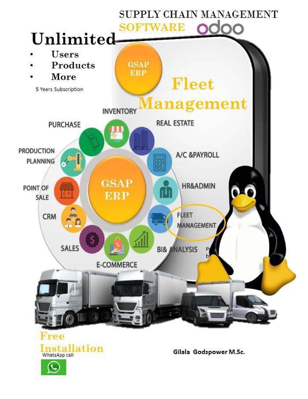 Download Supply Chain Management Software: Odoo - Fleet Management (Volume 1) PDF