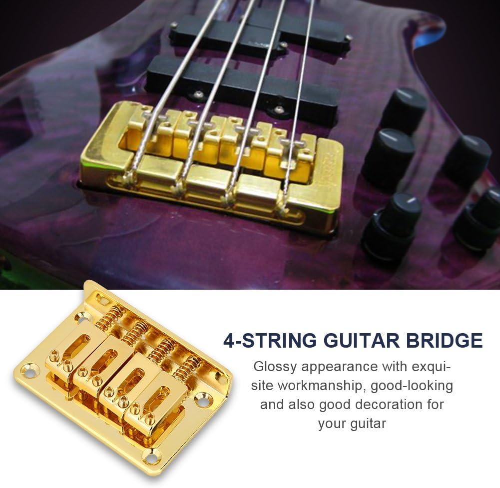 Schwarze Gitarren Sattelbrücke Für 4 Saiten E Bass Ersatzteile