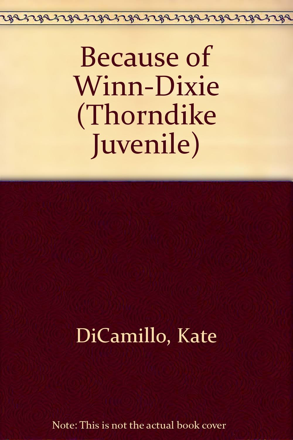 Because of Winn-Dixie Hardcover – Large Print, March, 2005