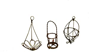 G & F MiniGardenn 10026 Fairy Garden Miniature Wire Accessory Set