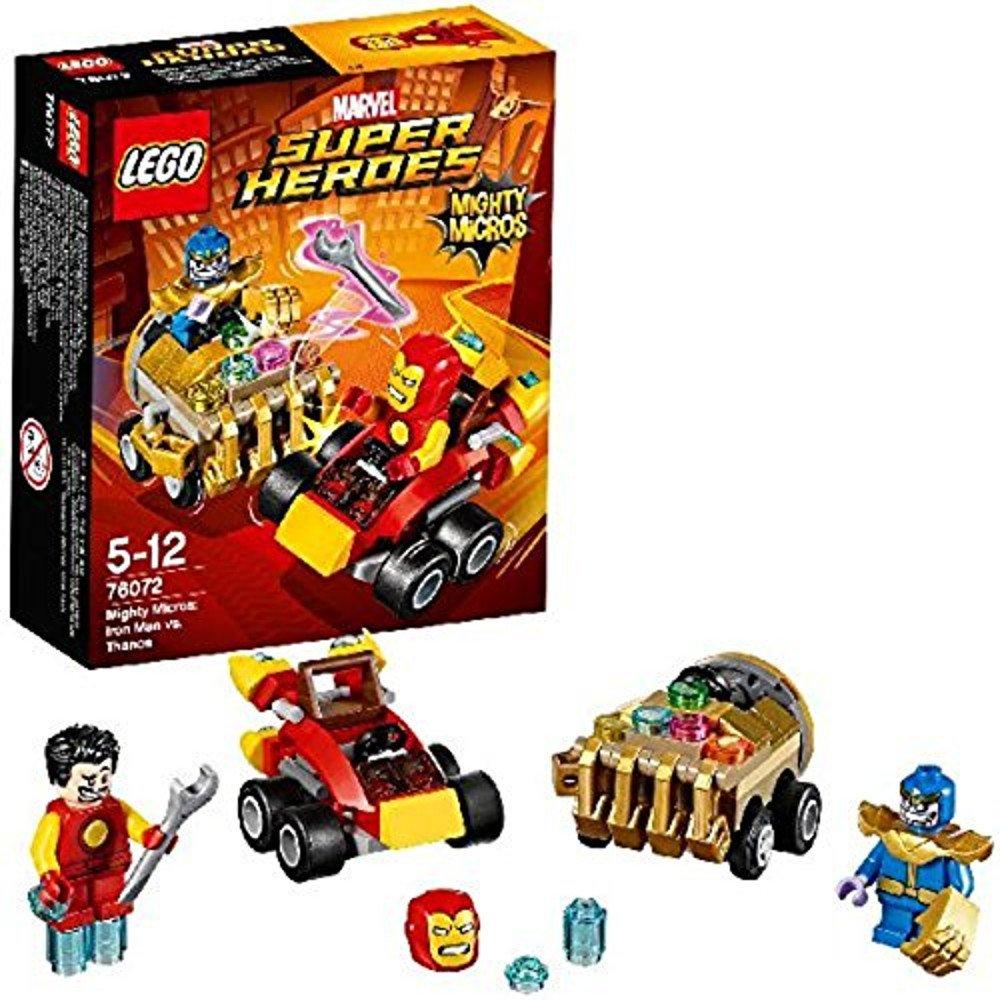 Amazoncom Lego Marvel Super Heroes Mighty Micros Iron Man Vs